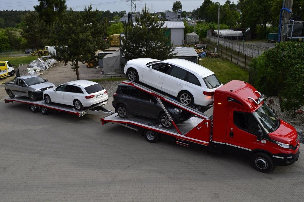 Перевозка легковых автомобилей компанией Носим.бай